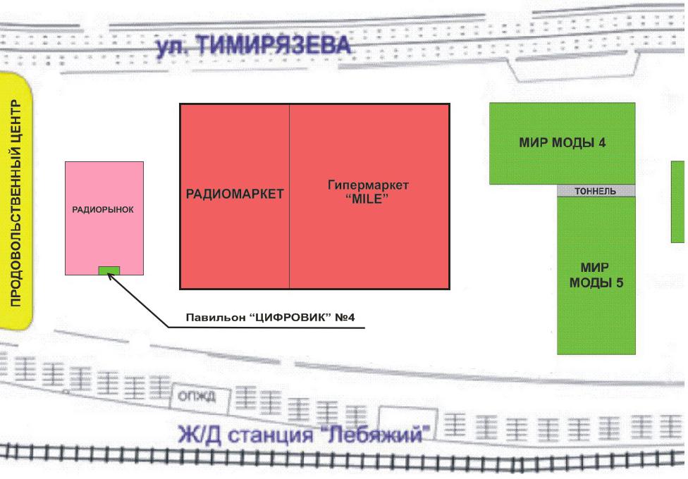 """ТД """"Ждановичи"""", Радиорынок"""